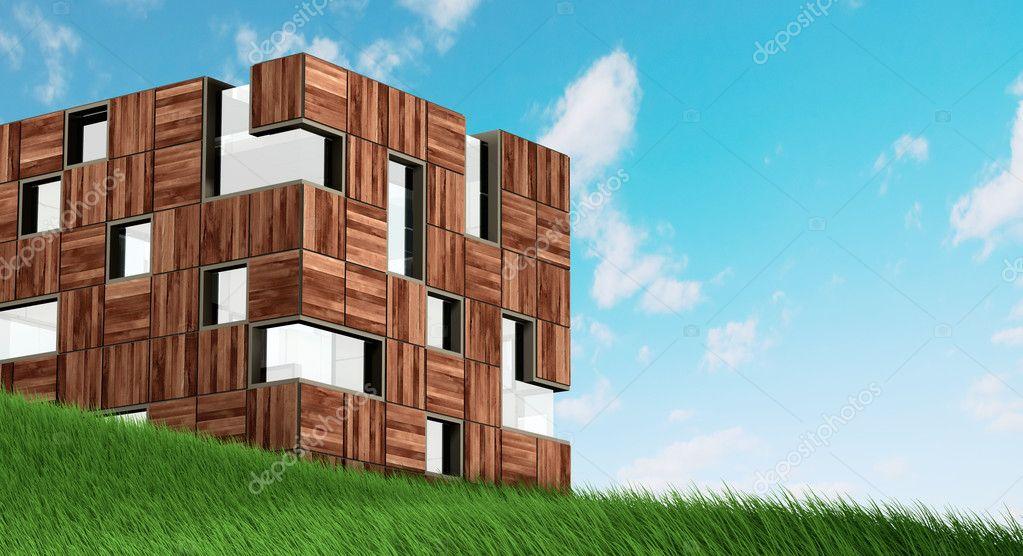 moderne fassade konzept stockfoto 1xpert 4298953. Black Bedroom Furniture Sets. Home Design Ideas