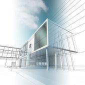 Konstruktion arkitekturen — Stockfoto