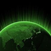 Gröna Asien — Stockfoto