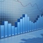 Finance diagram — Stock Photo