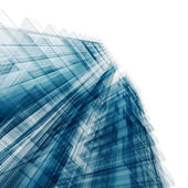 Blue tall building — Stock Photo