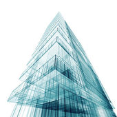 Contemporary abstract building — Stock Photo