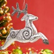 Silver deer — Stock Photo #4382566