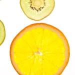 Sliced fruit — Stock Photo