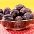 Fresh plum — Stock Photo