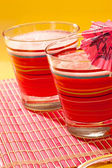 Watermelon drink — Stock Photo