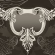 Revival ornate frame background — Stock Vector