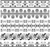 Ancient Greek ornament set for design — Stock Vector