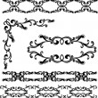 Decorative elements set - Stock Vector