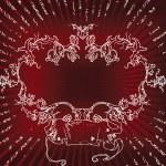 kırmızı bir arka plan — Stok Vektör #5178626