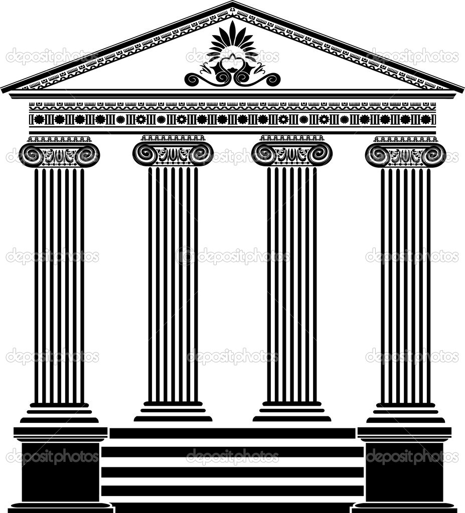 how to make a greek temple