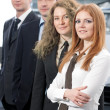 Stock Photo: Group of office workers