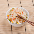 Royalty-Free Stock Photo: Fried rice with vegetables and prawn