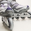 Inline skates - Stock Photo