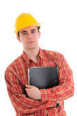 Portrait of worker — Stock Photo