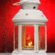 Christmas lamp - Stockfoto