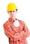 Ritratto di lavoratore — Foto Stock