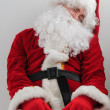 Stock Photo: Tired santa
