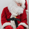 Tired santa — Stock Photo #4646905