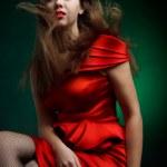 Fashionable woman — Stock Photo