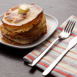 Homemade pancakes — Stock Photo #4647590