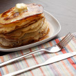 Homemade pancakes — Stock Photo #4647614