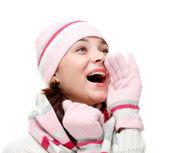 Happy young woman — Zdjęcie stockowe
