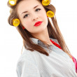 Stock Photo: Pin-up woman