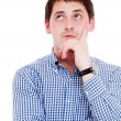 Young man in thoughtful pose — Stock Photo #5028958