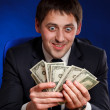 Royalty-Free Stock Photo: Man with money