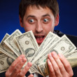 man with money — Stock Photo #5029442