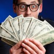 man with money — Stock Photo #5029490