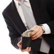 Man with money — Stock Photo #5029801