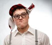 Ragazzo nerd — Foto Stock