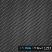 Carbon background. — Stock vektor