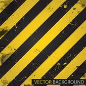 Hazard stripes. Vector background — Stock Vector
