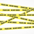 Royalty-Free Stock Vector Image: Police line tape