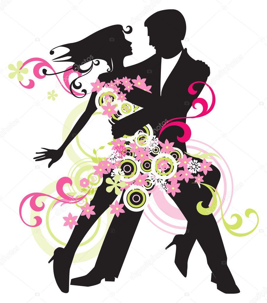 Бальные танцы картинка 5