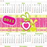 Calendar — Stock Vector #4189206