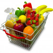Shopping basket - Stock fotografie