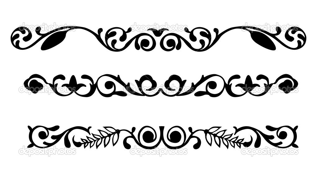 Vector ornament on white background — Stock Vector #4115421