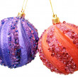 Сhristmas balls — Stock Photo