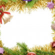 Christmas frame - Stockfoto