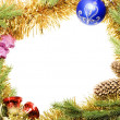 Christmas frame — Stock Photo #4335087