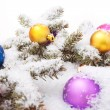 christmas balls — Stock Photo #4335330