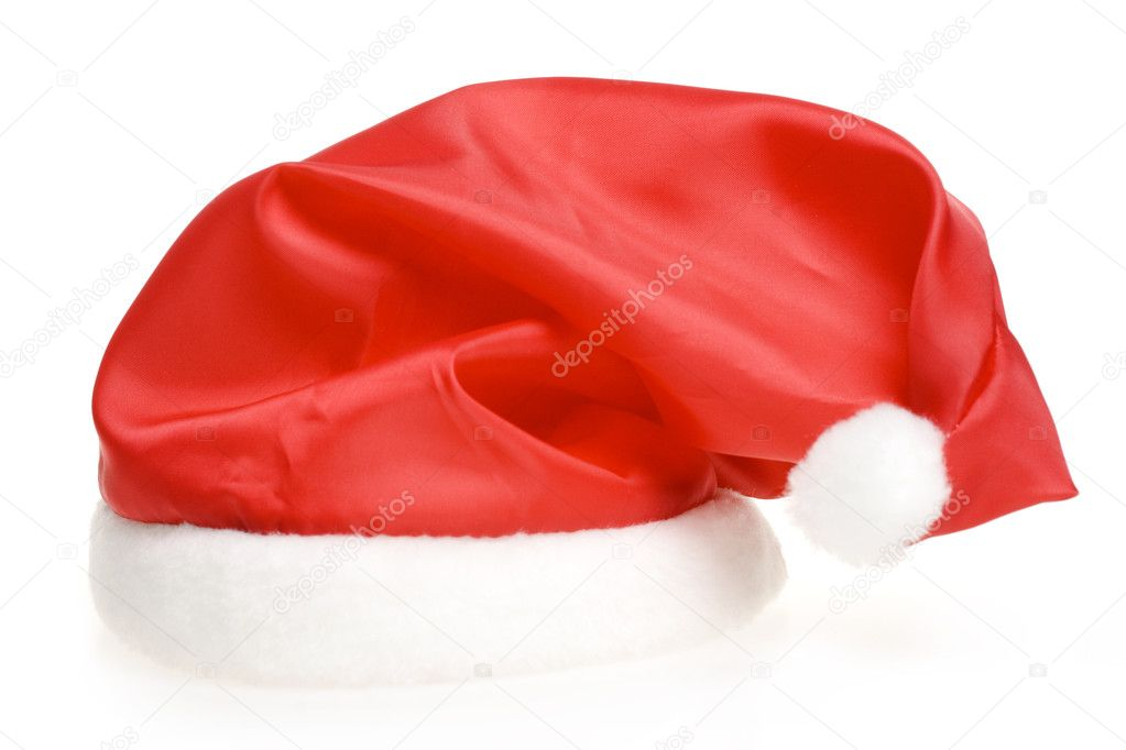 Santa's red hat — Stock Photo #4335160