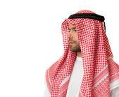 Man in Arabic headdress. — Stock Photo