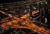 Transport interchange in Dubai. — Stock Photo