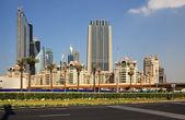 Modern architecture in Dubai. — Stockfoto