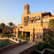 Area of the Madinat Jumeirah complex. - Stock Photo